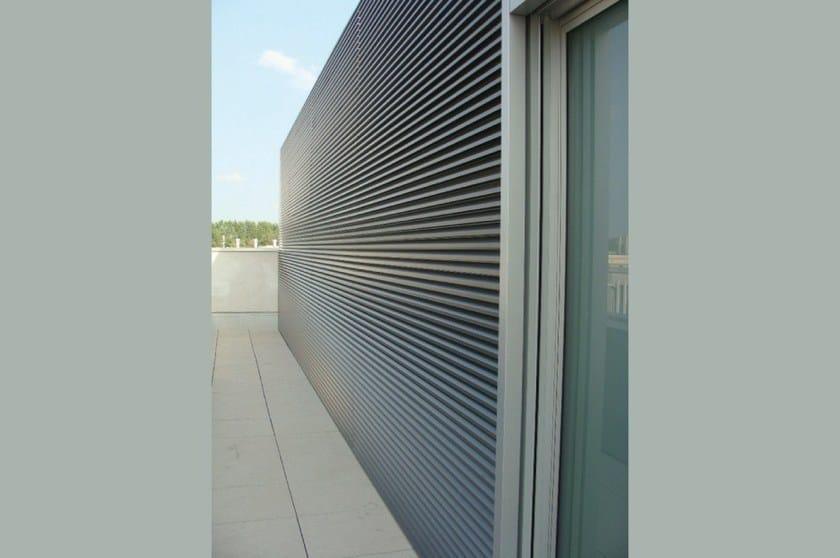 Griglie frangisole in alluminio EKU® GRID | Solar shading - PROFILATI