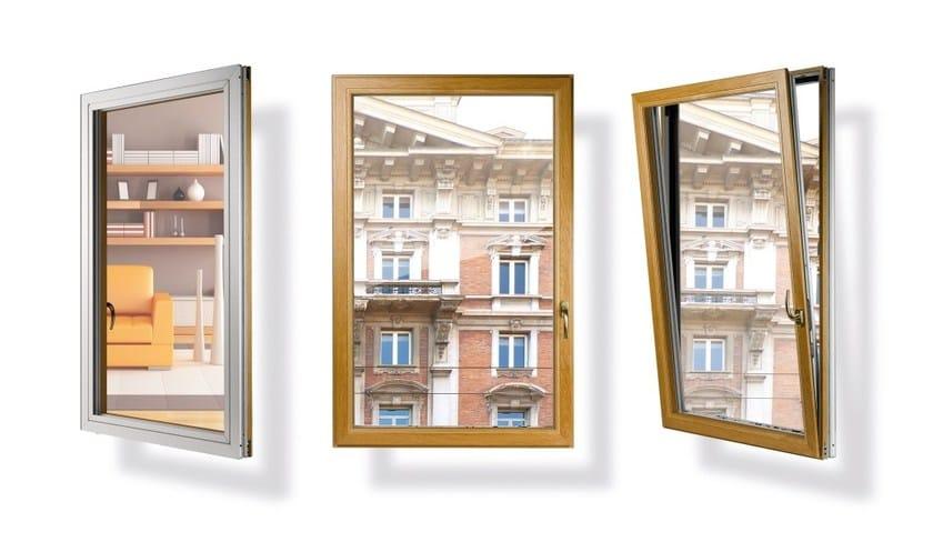 Finestra a taglio termico in alluminio e legno eku - Trasmittanza termica finestre ...