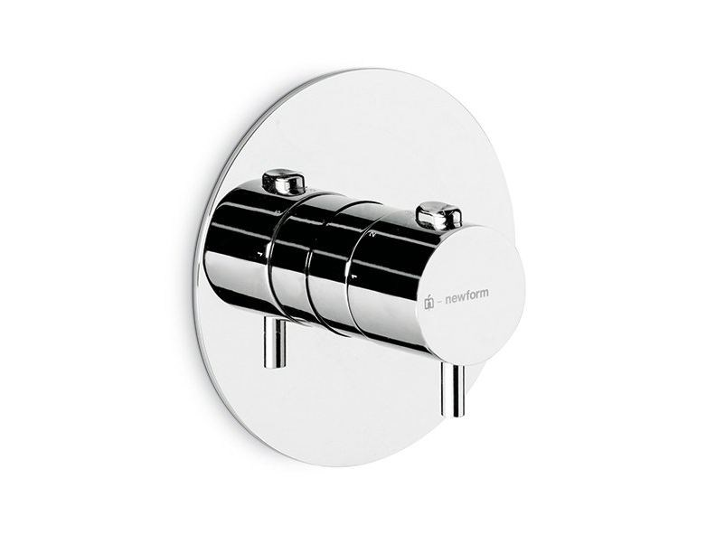 Thermostatic thermostatic shower mixer EL-X | Thermostatic shower mixer - NEWFORM