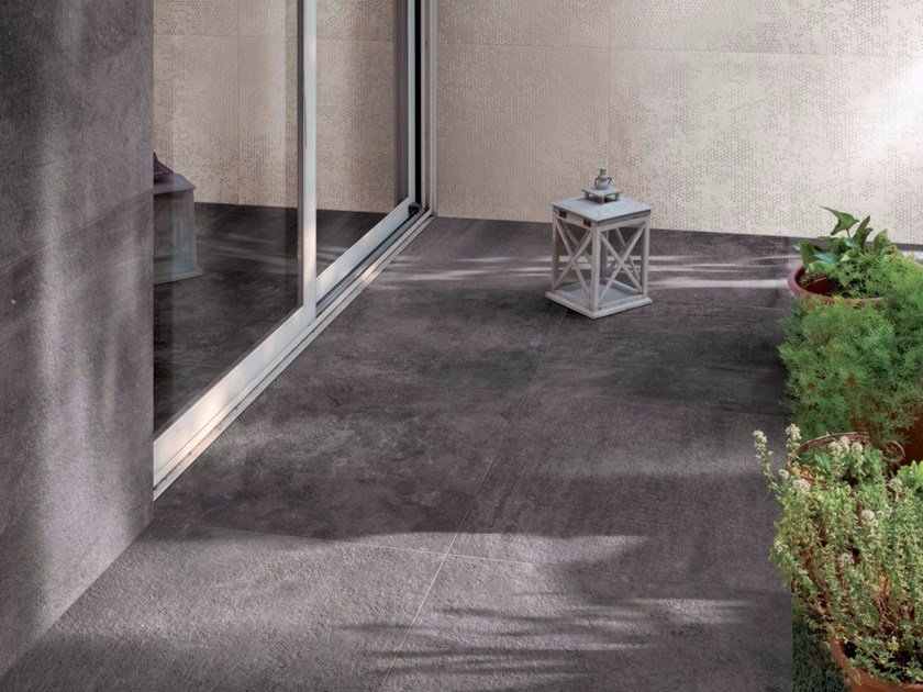 Porcelain stoneware wall/floor tiles with stone effect ELAPSE - Ceramiche Caesar