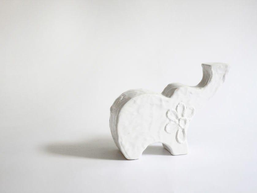 Ceramic decorative object ELE - N.O.W. Edizioni