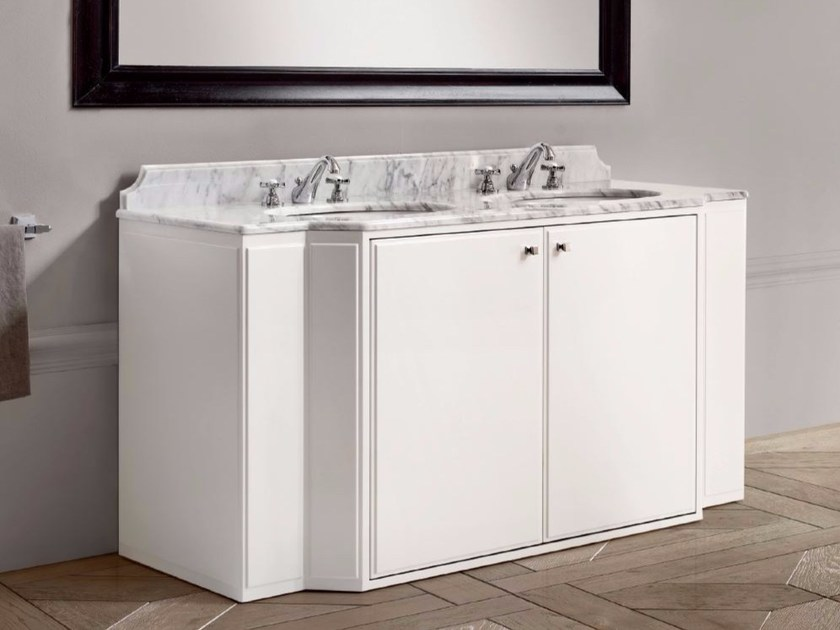 Mobile lavabo doppio con ante ELEANOR - BATH&BATH