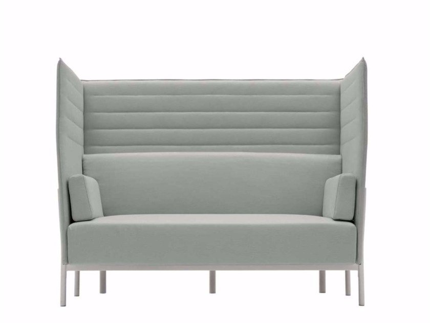 2 seater high-back fabric sofa ELEVEN HIGH BACK - 863 - Alias