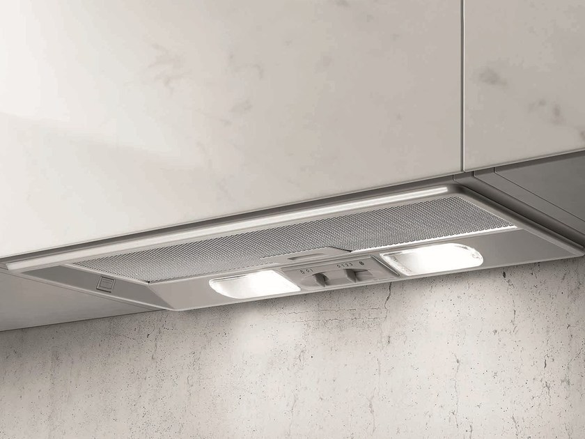Built-in cooker hood with integrated lighting ELIBLOC 9 by Elica
