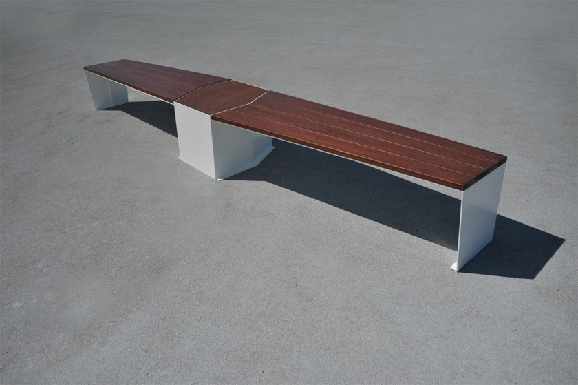 Wooden Bench ELICA by LAB23 Gibillero Design