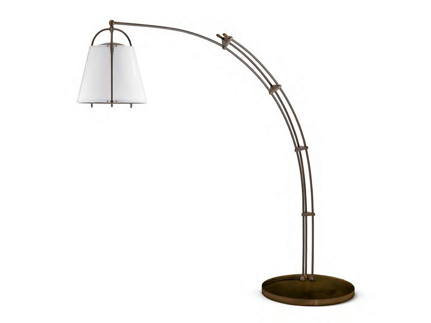 Brass Floor lamp ELICRISO - Aldo Bernardi