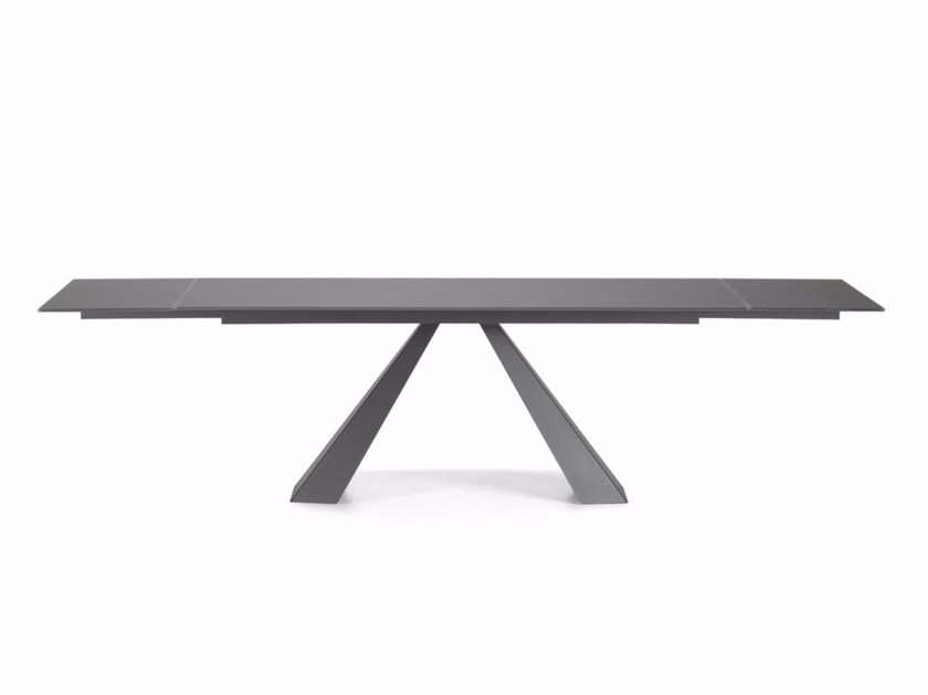 Extending rectangular table ELIOT DRIVE by Cattelan Italia