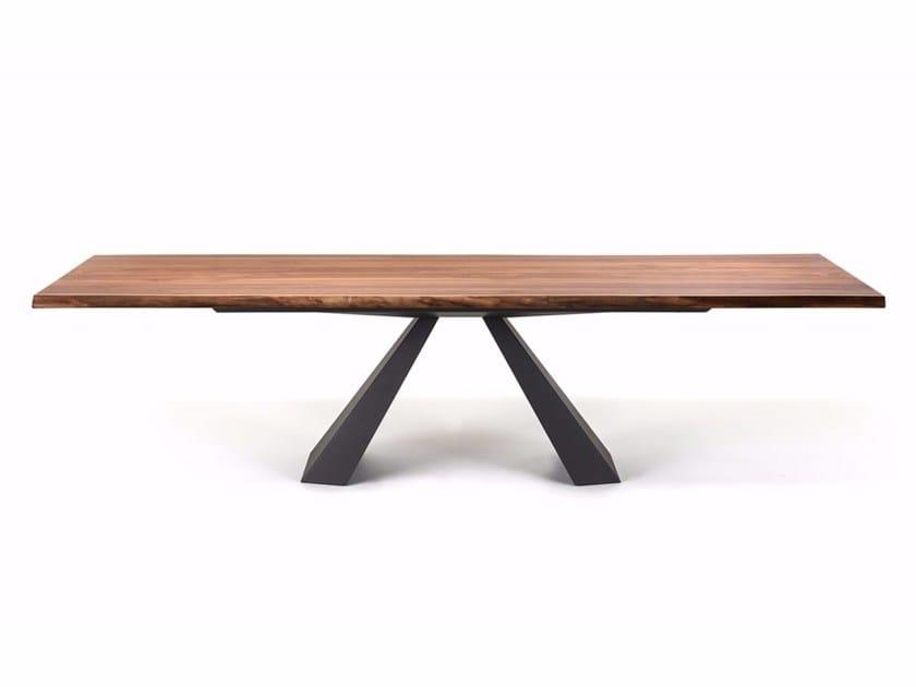 Rectangular wooden table ELIOT WOOD by Cattelan Italia