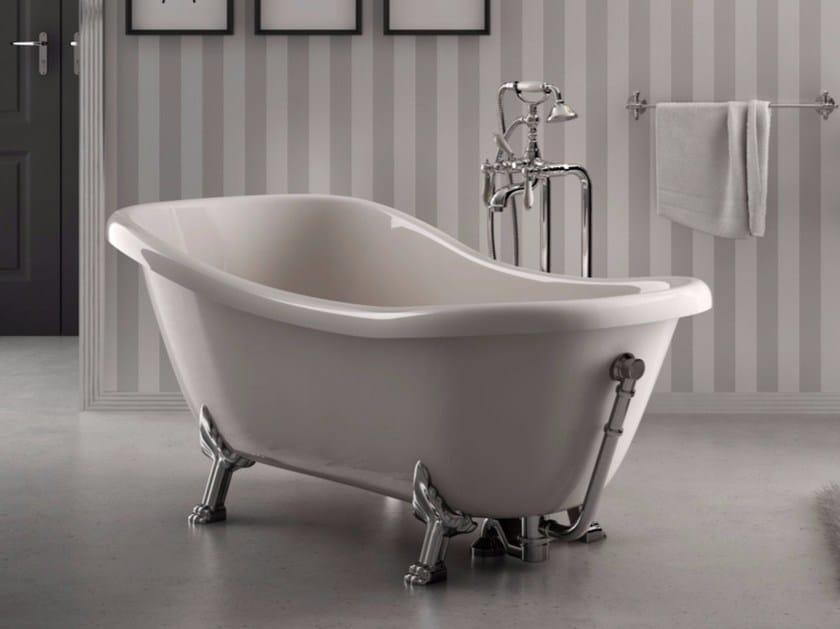 Freestanding bathtub on legs ELLADE | Bathtub - Hidra Ceramica
