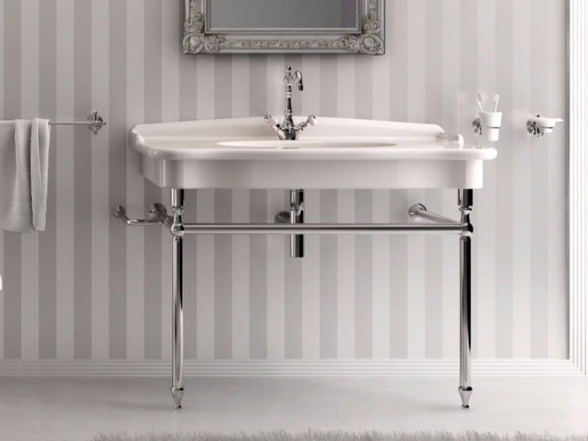 Console washbasin ELLADE | Ceramic washbasin by Hidra Ceramica