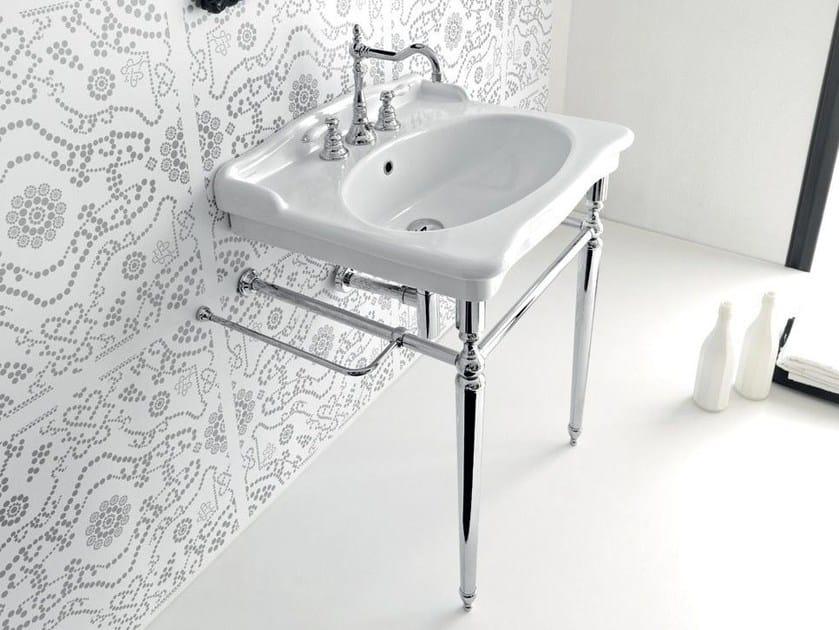 Console ceramic washbasin ELLADE | Console washbasin - Hidra Ceramica
