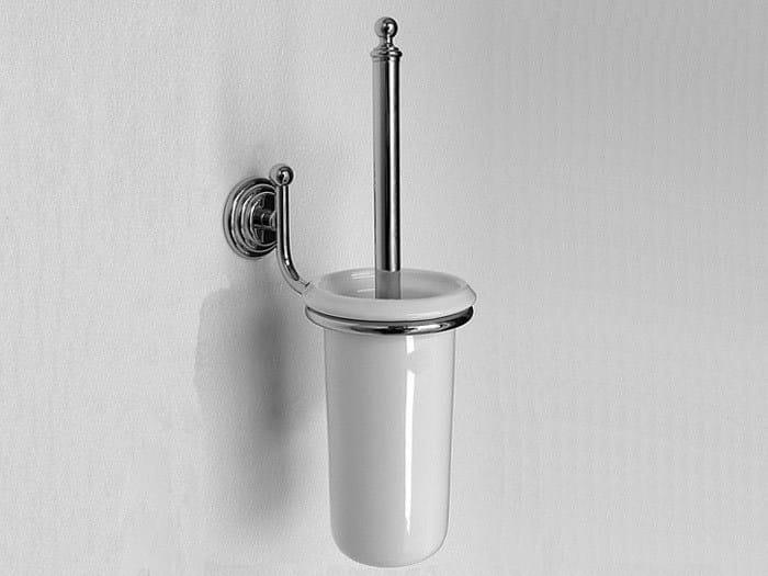 Wall-mounted toilet brush ELLADE | Toilet brush - Hidra Ceramica