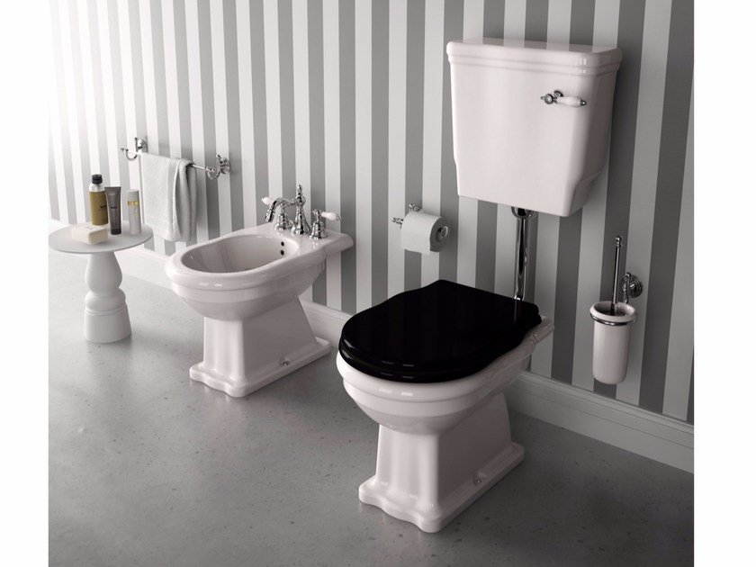 Ceramic toilet with external cistern ELLADE | Toilet with external cistern - Hidra Ceramica