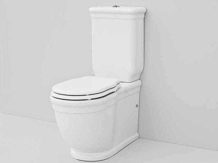 Close coupled ceramic toilet ELLADE | Close coupled toilet - Hidra Ceramica