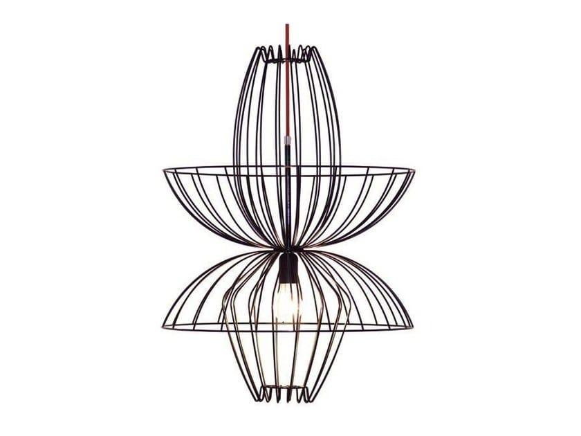 lampada a sospensione in metallo ellen by aromas del campo design ac studio. Black Bedroom Furniture Sets. Home Design Ideas