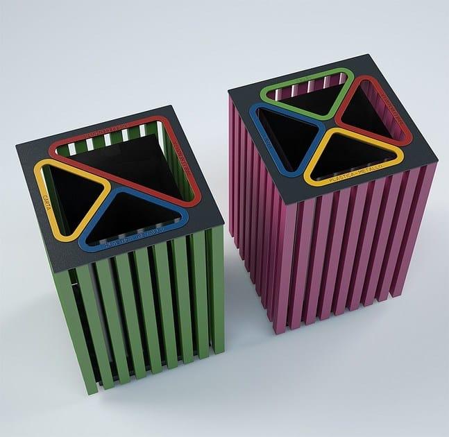 Contenitori raccolta differenziata verticali pompa - Contenitori raccolta differenziata ikea ...