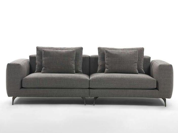 3 seater fabric sofa ELVIS | 3 seater sofa by Marac