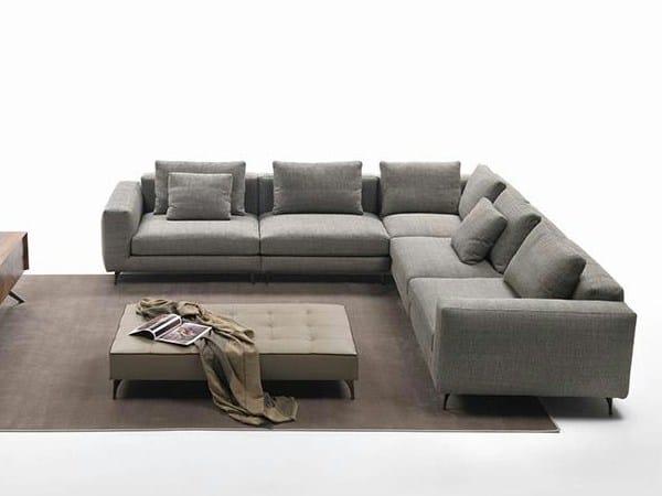 Corner fabric sofa ELVIS | Corner sofa - Marac