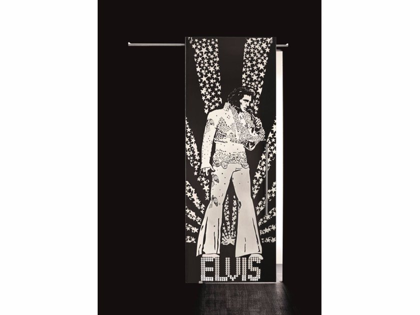 Glass sliding door ELVIS PRESLEY - Casali