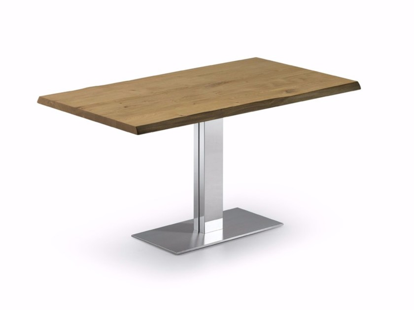 Rectangular wooden table ELVIS WOOD by Cattelan Italia