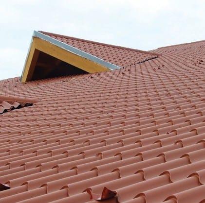Tegole tetto poca pendenza