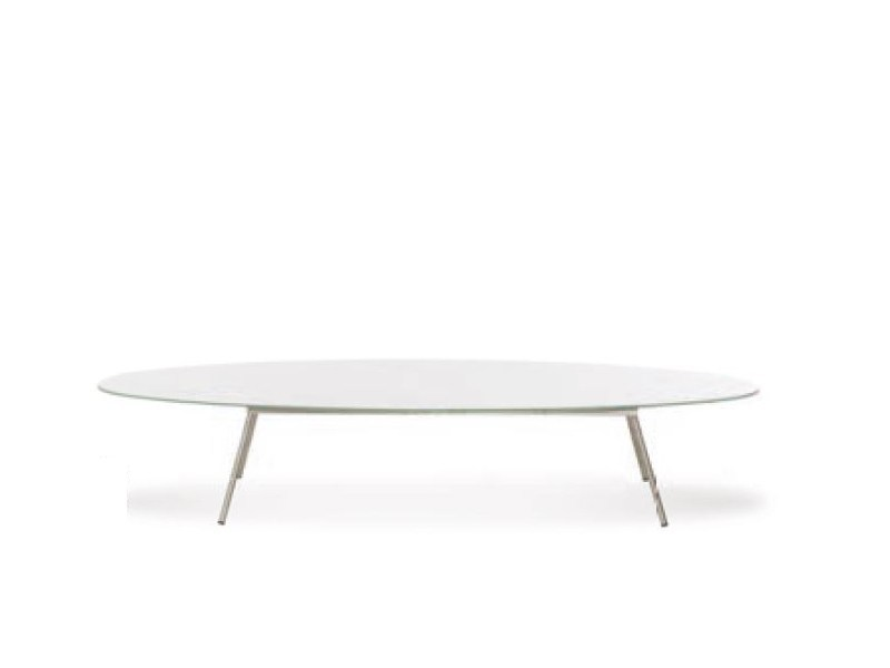 Low oval coffee table ELYPS | Coffee table - Joli