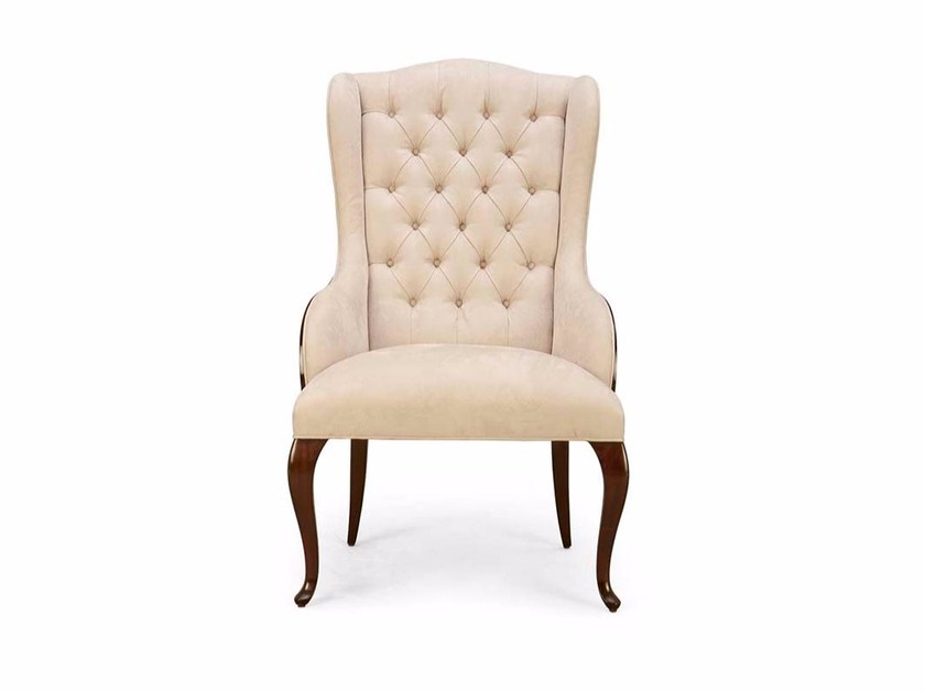 Tufted fabric armchair ELYSÉES | Tufted armchair - Christopher Guy