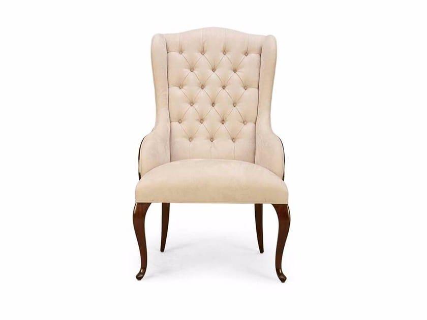 Tufted fabric armchair ELYSÉES | Tufted armchair - Christopher Guy