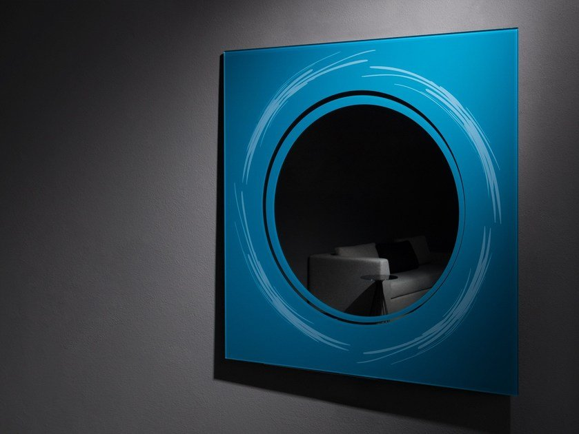 Square wall-mounted mirror EMMA by Elli Design