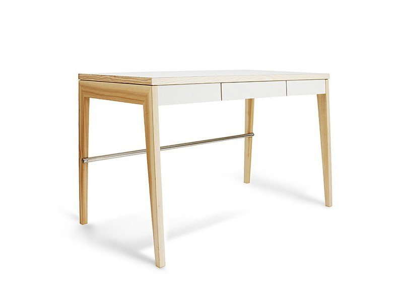 Rectangular writing desk with drawers WRITING DESK - MINT FACTORY