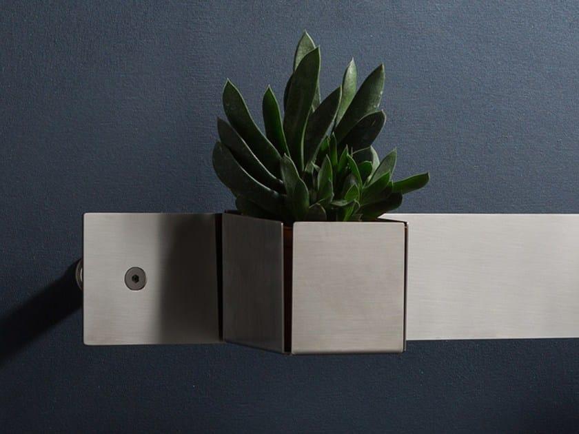 Stainless steel bathroom wall shelf EMME 7070 | Bathroom wall shelf - MINA