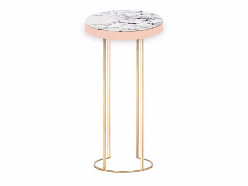 Round marble table EMPIRE - Moanne