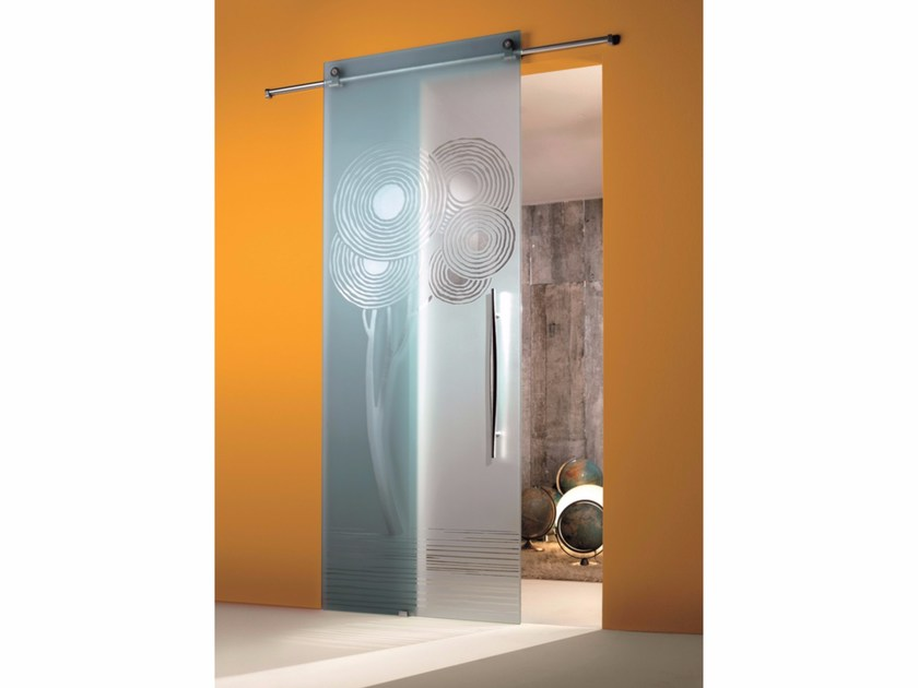 Glass sliding door ENALIOS - Casali