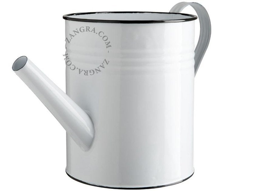 Painted metal watering can ENAMEL WATERING CAN - ZANGRA