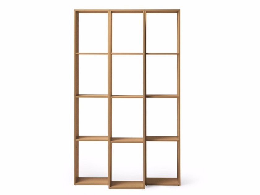 Open double-sided divider shelving unit ENDLESS by Massproductions