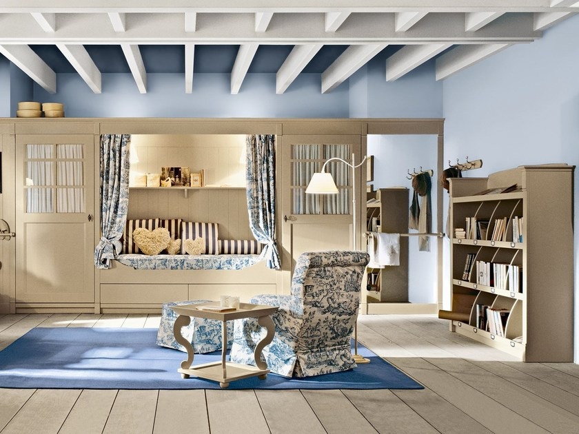 Solid wood bedroom set ENGLISH MOOD | Bedroom set by Minacciolo