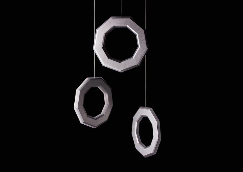 LED direct-indirect light pendant lamp ENNEA | Pendant lamp by Karice