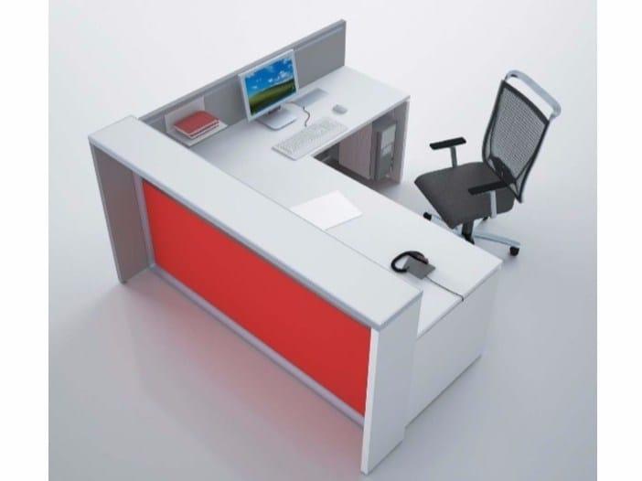 Reception desk EOS | Reception desk by Castellani.it
