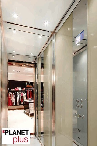 Machine Room-Less gearless custom lift EPLANET PLUS - GRUPPO MILLEPIANI