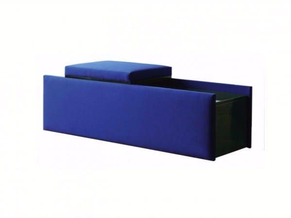 Storage fabric bench EPOPÉE | Storage bench - Treca Interiors Paris