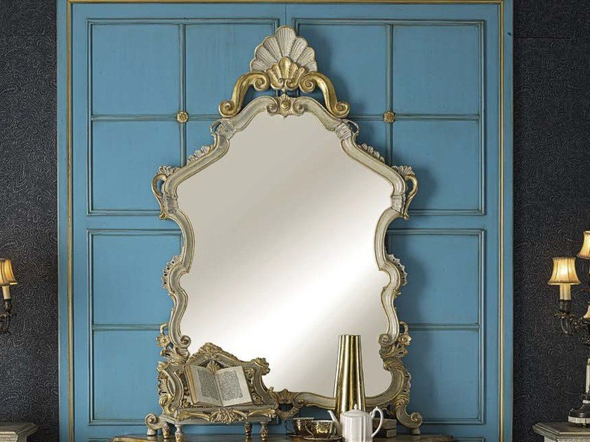 Countertop framed mirror ERCOLE | Mirror - Arvestyle