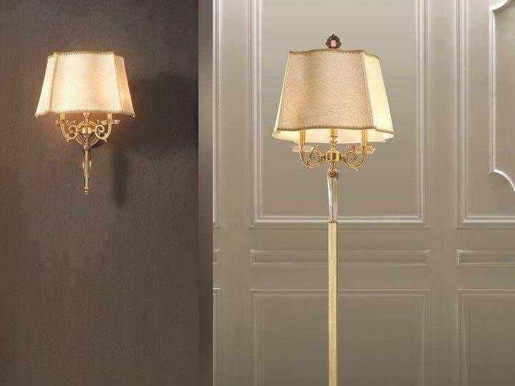 Wall light ERMES A2+1 by Euroluce Lampadari