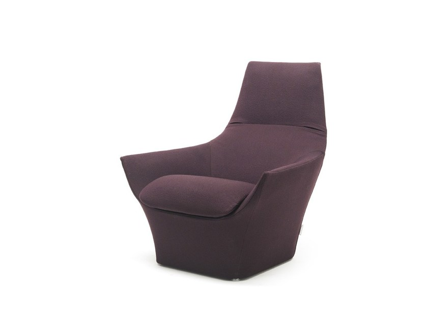 Fabric armchair with armrests ERMES VESTA | Armchair - MisuraEmme