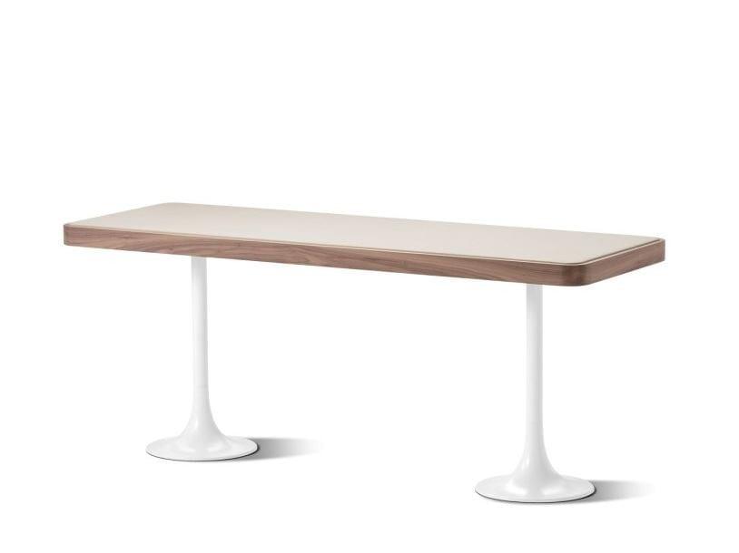 Carrara marble secretary desk ERMES | Secretary desk - Flou