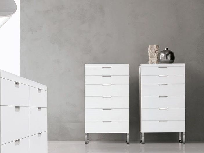 Lacquered MDF chest of drawers ESPRIT | Chest of drawers - ALIVAR
