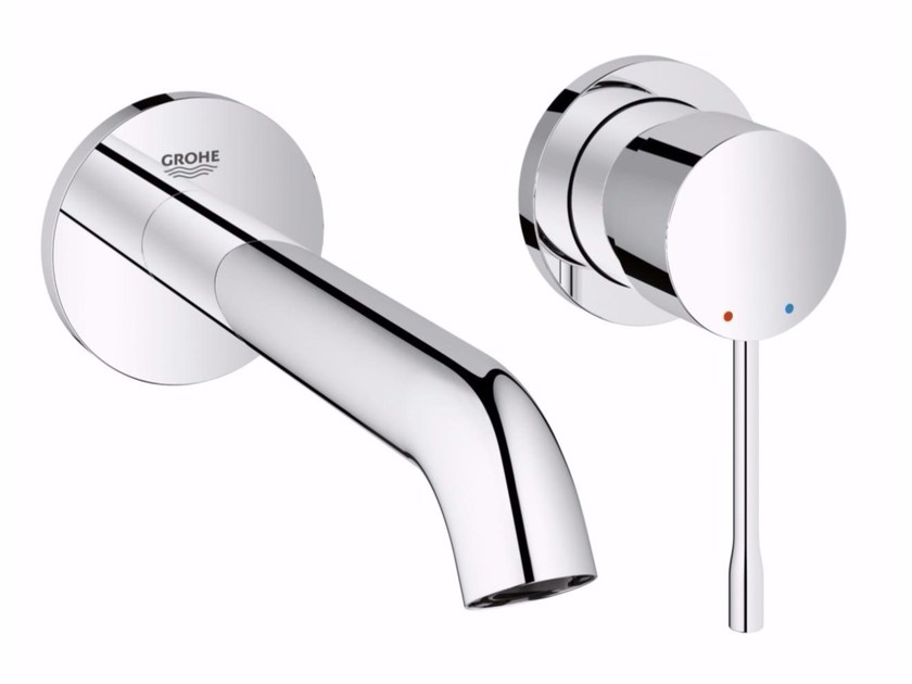 2 hole wall-mounted washbasin mixer ESSENCE NEW | 2 hole washbasin mixer - Grohe