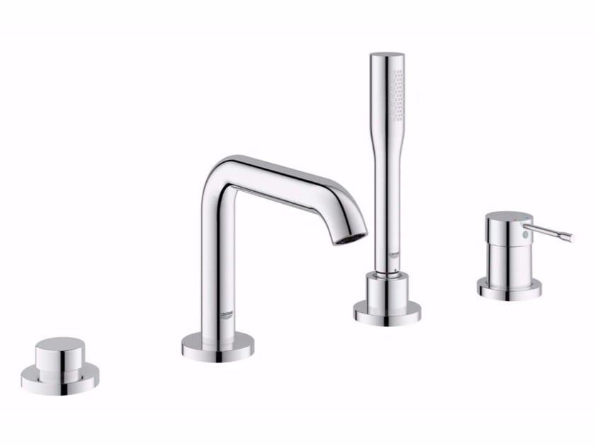 4 hole bathtub set with hand shower ESSENCE NEW | 4 hole bathtub set by Grohe
