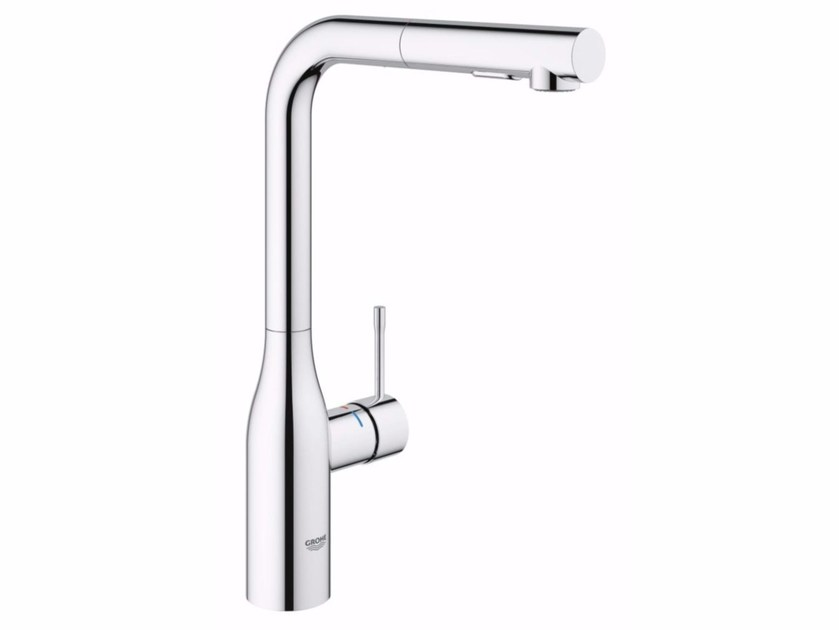 Countertop kitchen mixer tap with swivel spout ESSENCE NEW | Kitchen mixer tap with swivel spout by Grohe