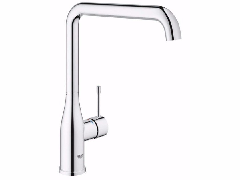 Countertop kitchen mixer tap with temperature limiter ESSENCE NEW | Kitchen mixer tap with temperature limiter by Grohe
