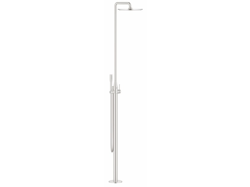 Floor standing shower panel with diverter ESSENCE NEW | Shower panel by Grohe